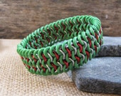 Holiday Colors Stretch Cuff