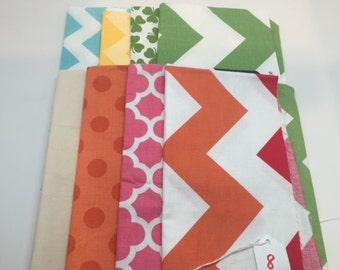 SUMMER SALE - Basics Bundle #8 - Fat Quarter Bundle (8) - Riley Blake Designs -