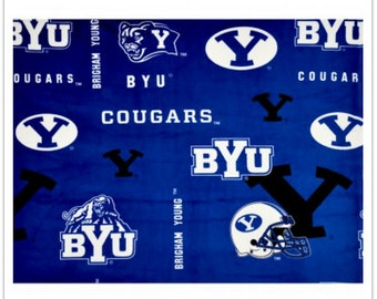 BLACK FRIDAY SALE - Minky - Byu - Brigham Young University