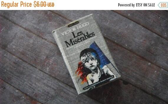ON SALE Miniature Book --- Les Miserables