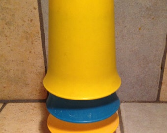 4 Piece Set of Bell Tumblers by Tupperware