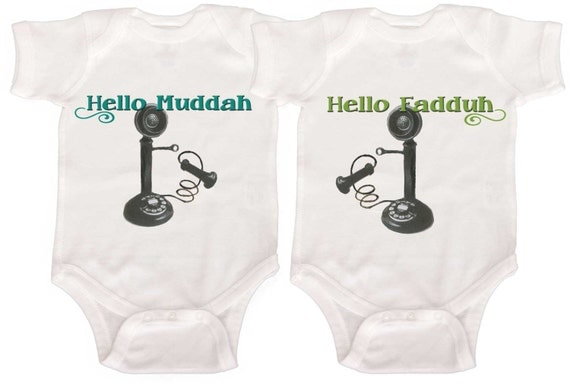 Funny Twin One Pieces Coming Home Twin Baby Bodysuits by Mumsy Goose  Boy Twins Girl Twins Boy GIrl Twins Newborn Romper to Kids Tees
