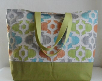 Evan XL Extra Large Beach Bag / BIG Tote Bag - Ready to Ship