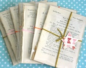 10 x VINTAGE Shakespeare Book Pages for Junk Journals, Scrapbooking, Papercrafting, Project Life