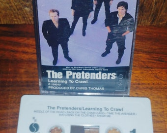 The Pretenders Learning to Crawl Cassette Tape