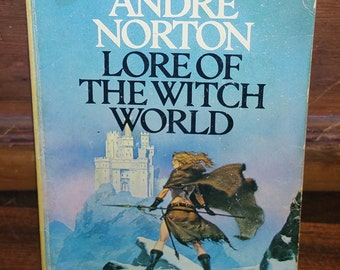 Lore of The Witch World by Andre Norton Vintage Paperback Book