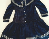 Antique Handmade Sailor Dress