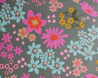 Playful Floral Cotton Lawn Fabric from Melody Miller for Cotton & Steel