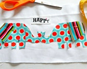 Happy Elephants Valentines Day Sewing Kit Sew a Pillow Sew a Wall Hanging 7x12 Beginner Sewing Kit Gift Idea for Valentines Day