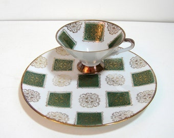 Bavarian Mid Century Modern Plate And Cup