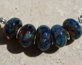 SLOW MOTION Artisan boro beads by JRG
