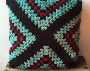 Vintage Crochet Cushion