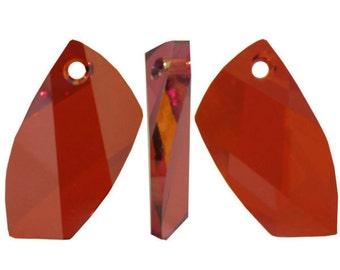 Swarovski 6620 Avant-Garde Pendant in red magma