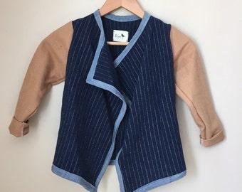 Heirloom Wool Kids Coat Size 5-6