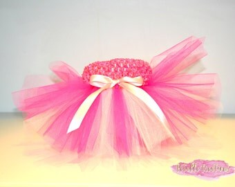 Pink Tutu, Baby Tutu, Birthday Tutu, Cake Smash Tutu, Flower Girl Tutu, Newborn Photo Prop, Ballerina Tutu,birthday tutu, party tutu