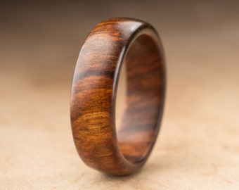 Size 13 - Tamboti Wood Ring No. 265