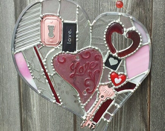 Key To My Heart Too - Unique Mosaic