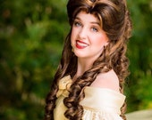 Belle Beauty and the Beast Formal Gown Adult Costume Wig - A True Enchantment Original