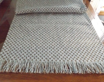 Chenille Table Runner with Self Fringe