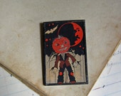 Halloween Pin, The Original Postcard Jewelry, Inventory Sale