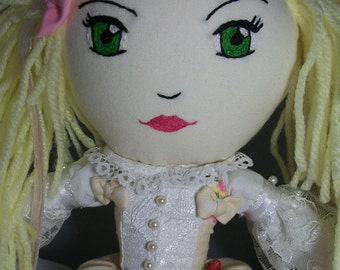 Sweet Lolita | Cream & Strawberries | Doll | Plushie