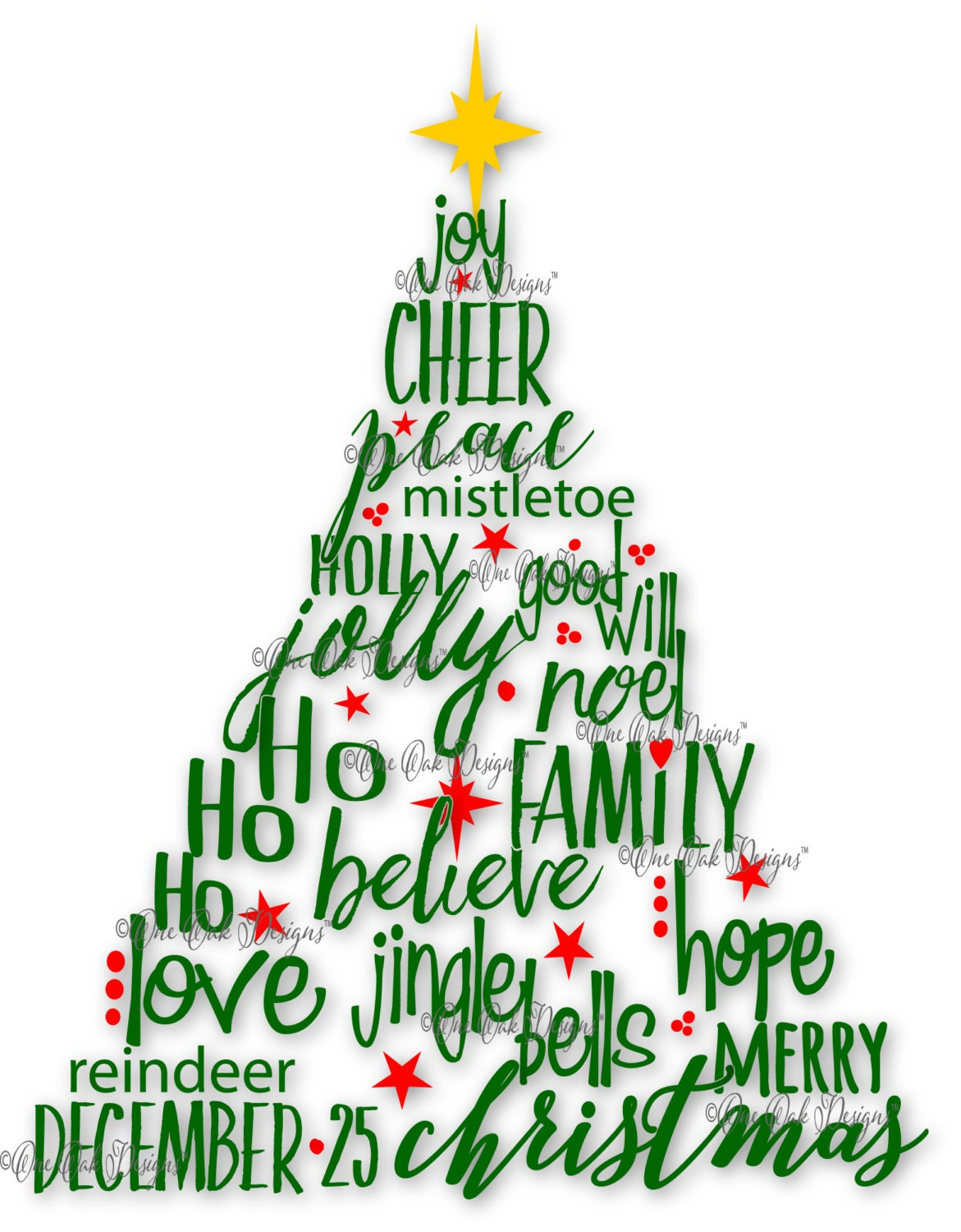 Download Christmas Tree SVG File PDF / dxf / jpg / png / by ...