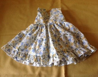 American Girl doll clothes Spring two-tiered dress