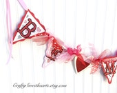 Valentine Decoration Valentine Banner Be Mine Banner Party Decoration Home Decor