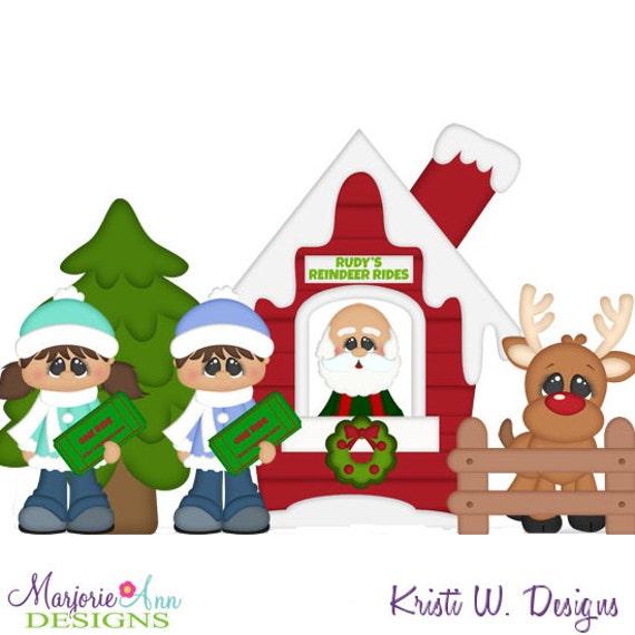 free christmas village clipart - photo #6