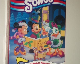 Disney Sing Along Sing-Along Songs VHS Very Merry Christmas Songs
