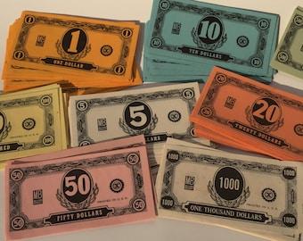 Vintage Milton Bradley Game Money