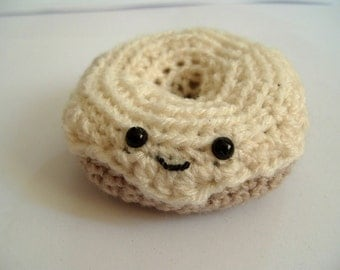Cream Donut Amigurumi Doughnut Play Food Pin Cushion Toy Cake Donut Pin Cushion