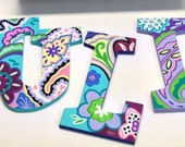 Hand Painted Letters for Wall Decor and more