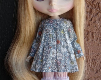 Smock dress set for Blythe