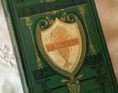 Antique poetry book Robert Burns poems, Burns poems and letters ornate Burns book 1800's Burns poetry book poetry gift book steel engravings