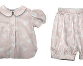vivi bebe Barely There Blouse and Bloomer set