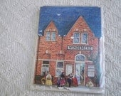 Collectible Paper 19th Century Train Station Windemere London Card Project 1988