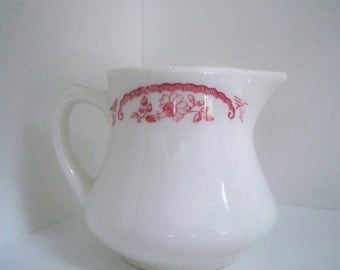 Vintage Home Dining Serving Small Creamer Pitcher USA Homer Laughlin China