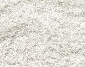 White Shimmer Mica 1 Oz or 4 Oz White Sparkle Mica, White Pearl Mica , Cosmetic Supply, Makeup Supply