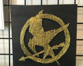 Hunger Games Mocking Jay String Art Wall Decor