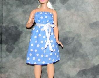 CB1-05) the NEW Curvy Barbie doll clothes, 1 pretty dress