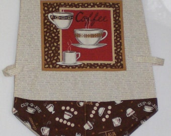 Cobbler Reversible Apron by Judy Illi Crafts