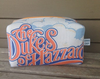 Dukes of Hazzard Zipper Pouch Recycled