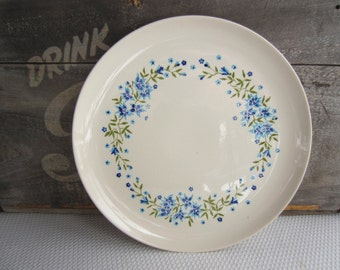 Vintage Setson Blue Flower Dinner Plate STT229