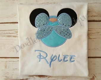 Sparkle Cinderella shirt with name