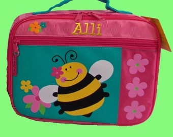 Personalized Stephen Joseph Bee Lunchbox