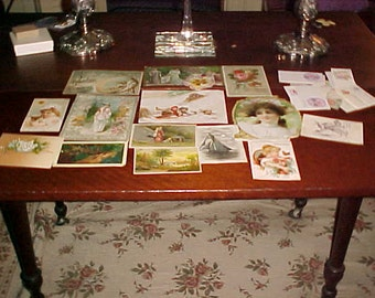 Lot Victorian Trade Cards Coffee,Shoes,Insurance,Sewing Beautiful,Collect/Crafts