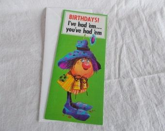 Vintage Roth Birthday Greeting Card