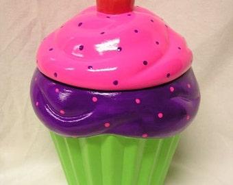 Born To Be Wild Cupcake Jar