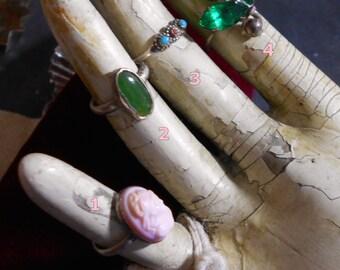 Destash Vintage Silver Rings